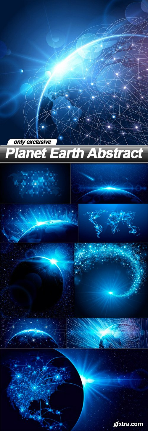 Planet Earth Abstract - 10 EPS