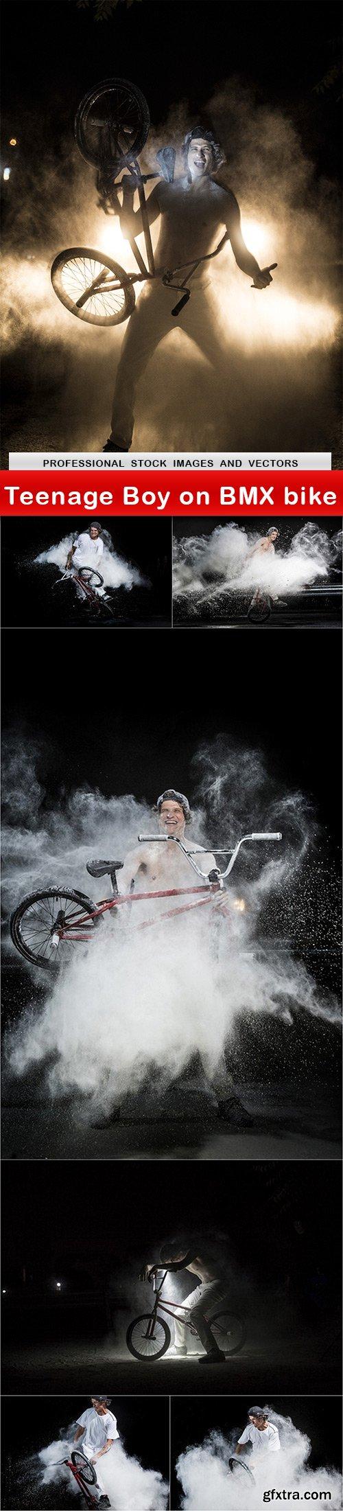 Teenage Boy on BMX bike - 7 UHQ JPEG