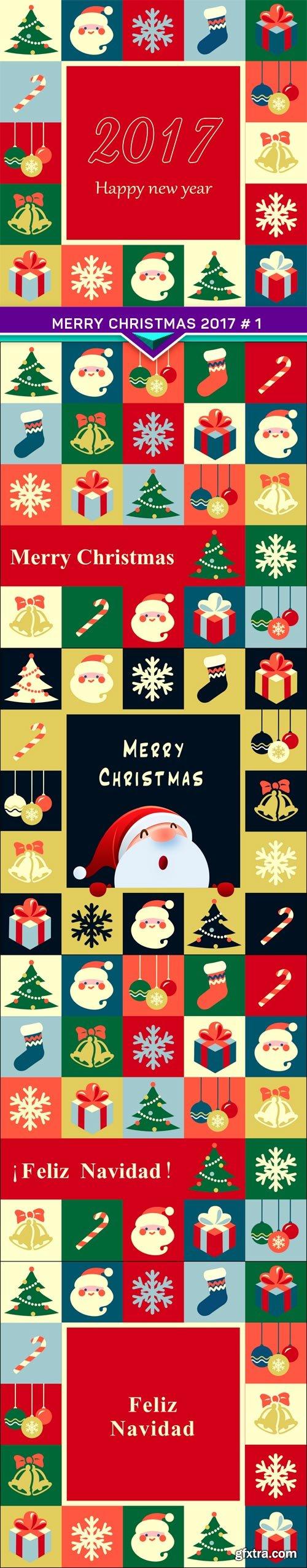 Merry Christmas 2017 # 1 5X JPEG