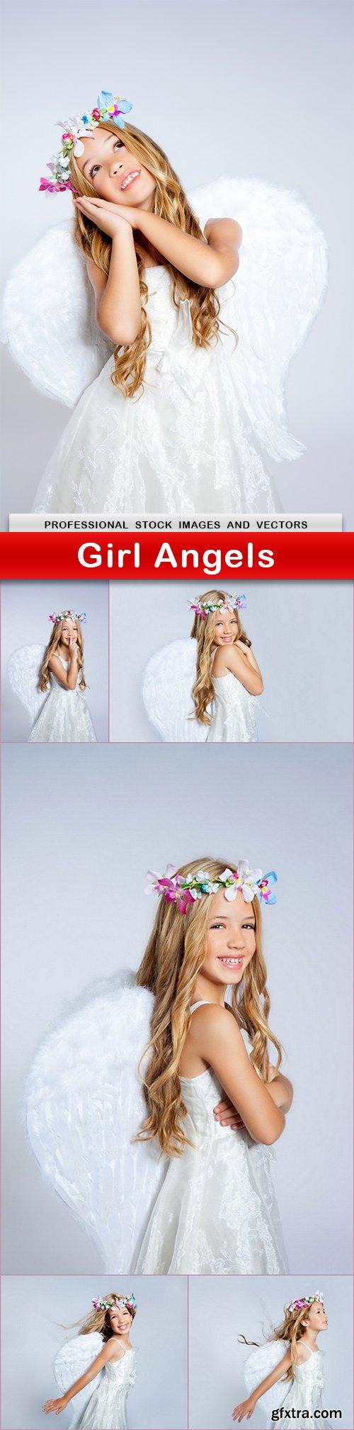 Girl Angels - 6 UHQ JPEG