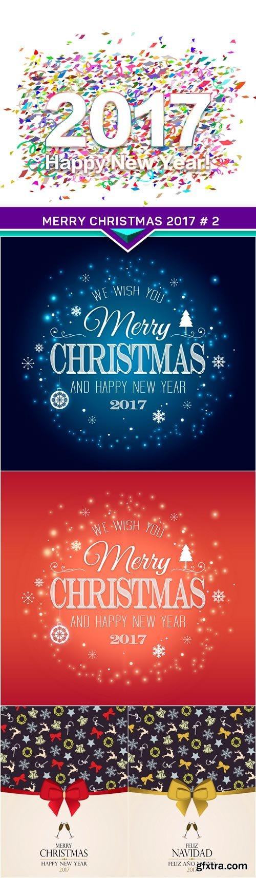 Merry Christmas 2017 # 2 5X JPEG
