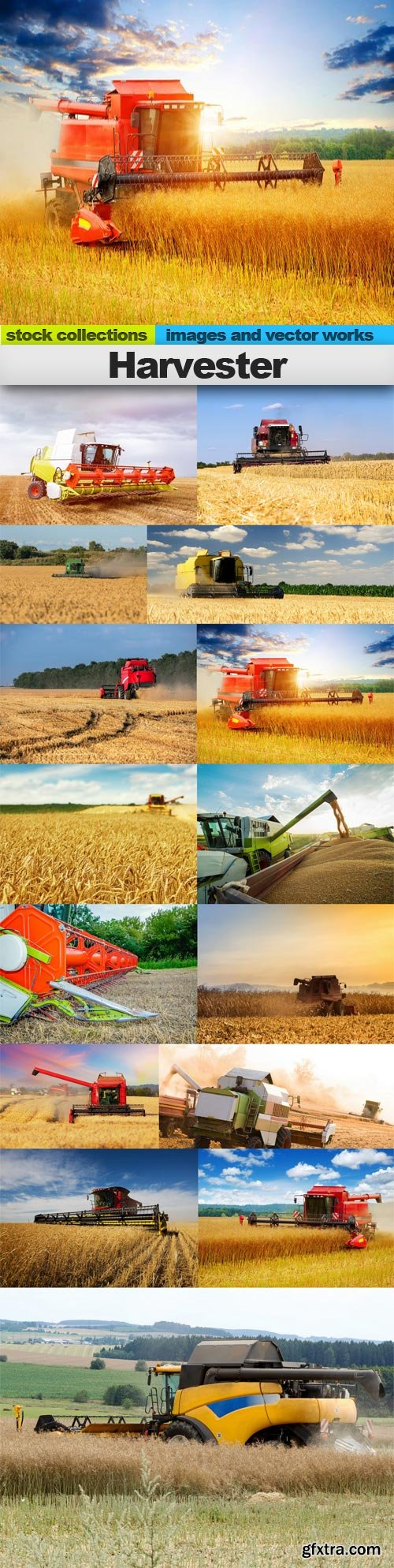 Harvester, 15 x UHQ JPEG