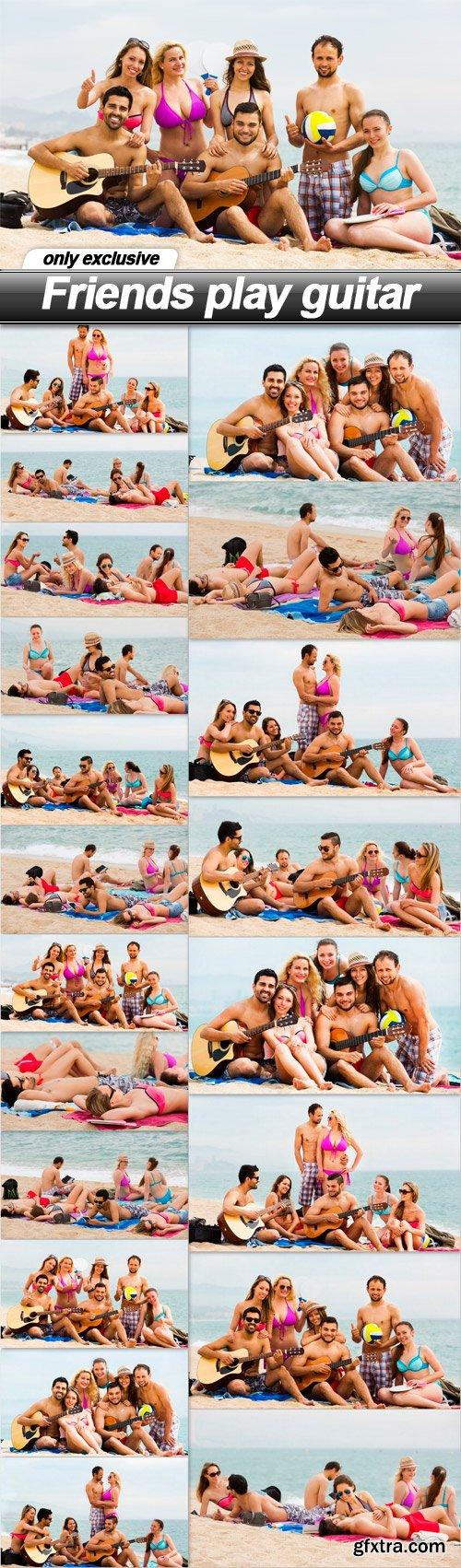 Friends play guitar - 20 UHQ JPEG