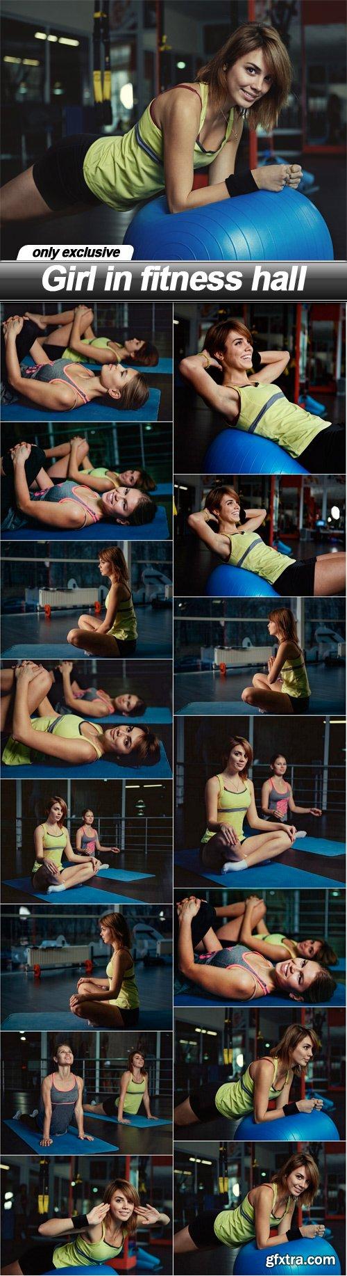 Girl in fitness hall - 15 UHQ JPEG