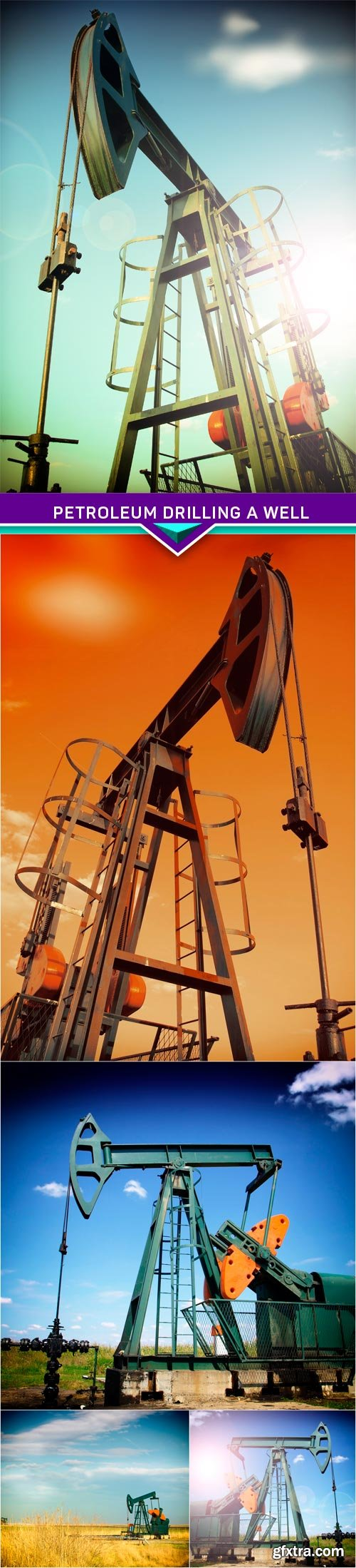 Petroleum drilling a well 5X JPEG