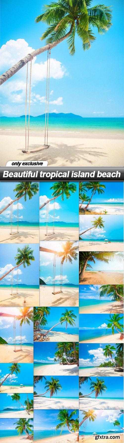 Beautiful tropical island beach - 20 UHQ JPEG