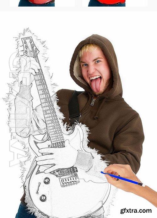 GraphicRiver - Smart Sketch Photoshop Action 16988682