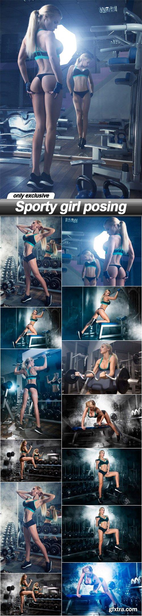 Sporty girl posing - 14 UHQ JPEG