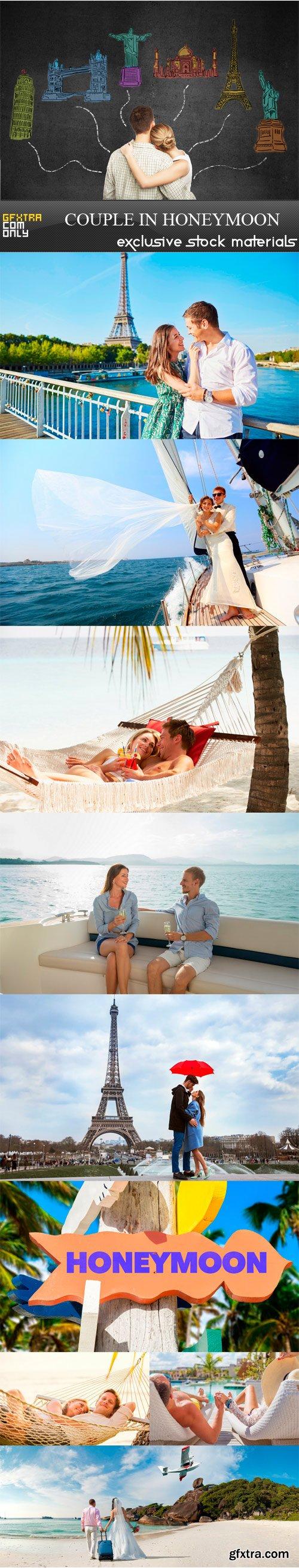 Couple in honeymoon