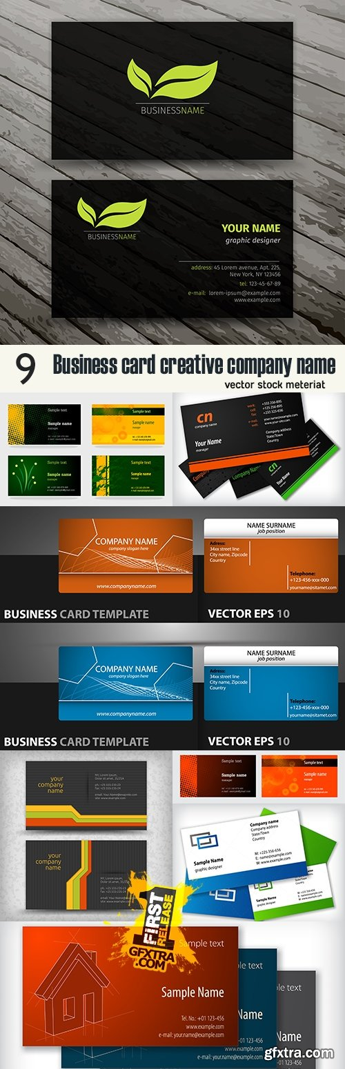 Business card creative company name