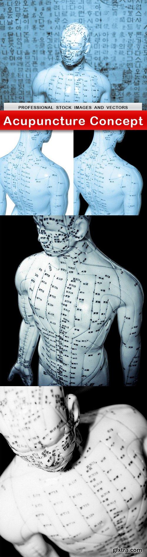 Acupuncture Concept - 5 UHQ JPEG