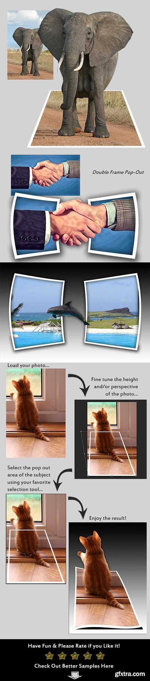 GraphicRiver - Photo Pop-Out Creator 10400143