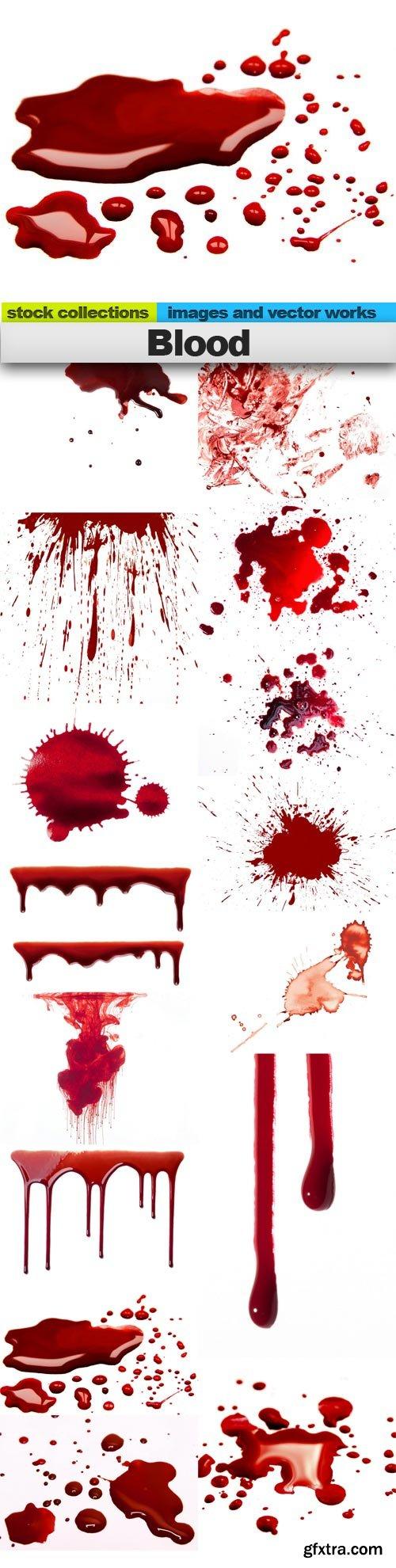 Blood, 15 x UHQ JPEG