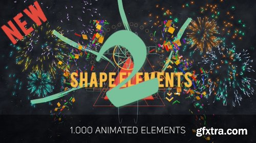 Videohive Shape Elements 2 10371983 (UPDATE 13 May 16)