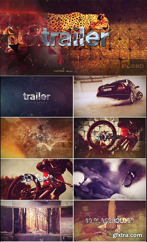 Videohive - 3D Action Trailer - 16867757