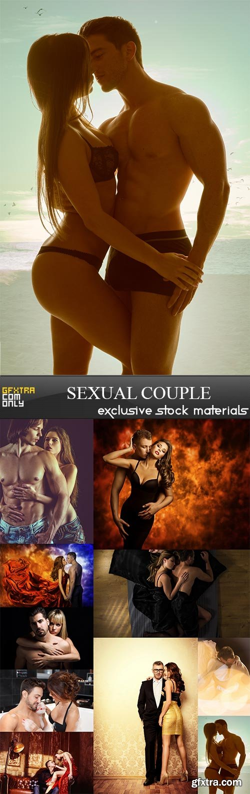 Sexual Couple, 10 x UHQ JPEG