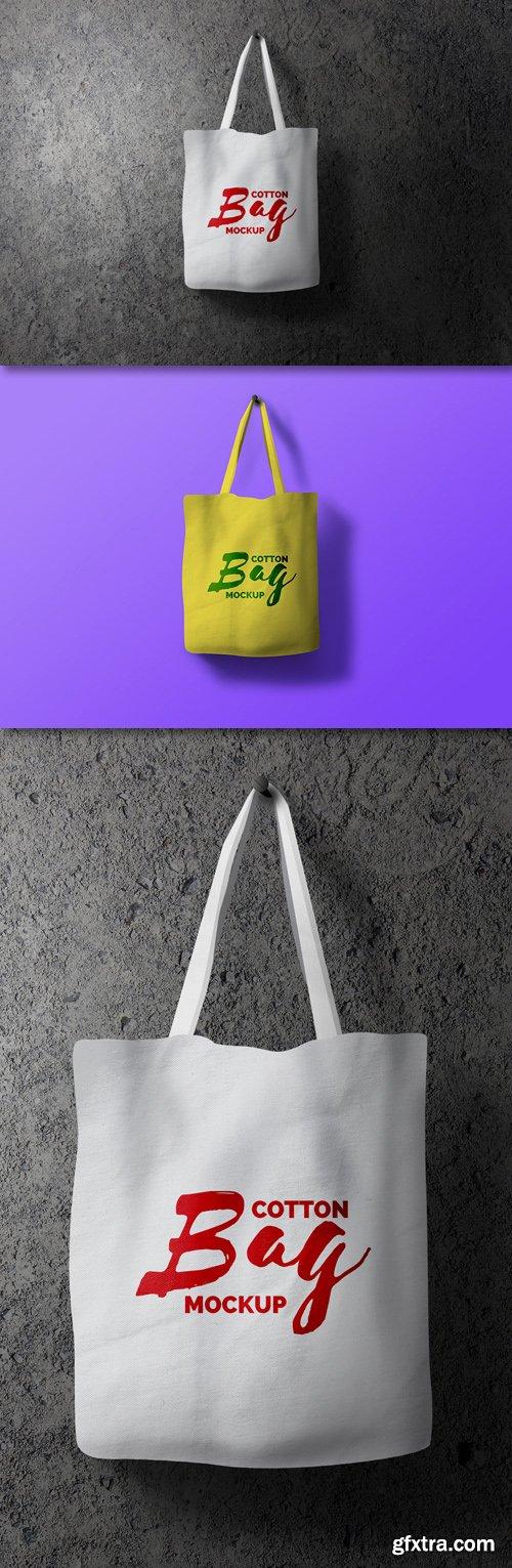 Cotton Bag Mockup Psd