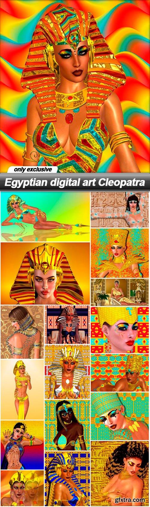 Egyptian digital art Cleopatra - 18 UHQ JPEG