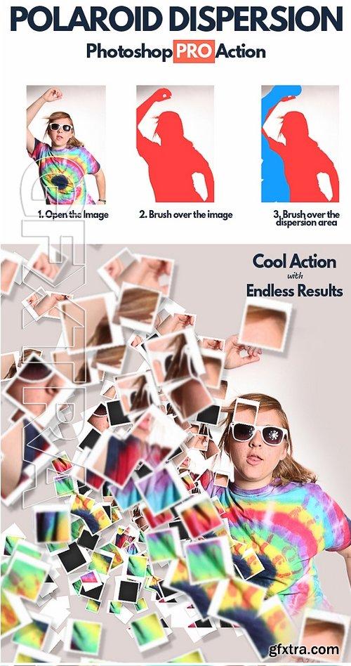 GraphicRiver - Polaroid Dispersion Photoshop Action 17109306