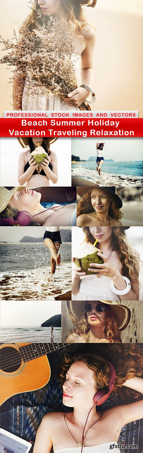 Beach Summer Holiday Vacation Traveling Relaxation - 10 UHQ JPEG