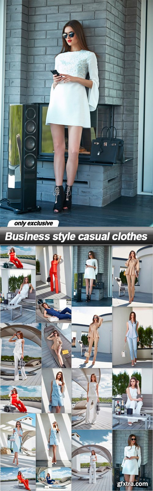Business style casual clothes - 20 UHQ JPEG