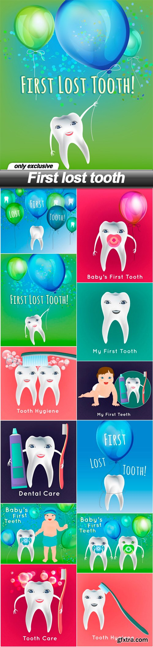 First lost tooth - 12 EPS
