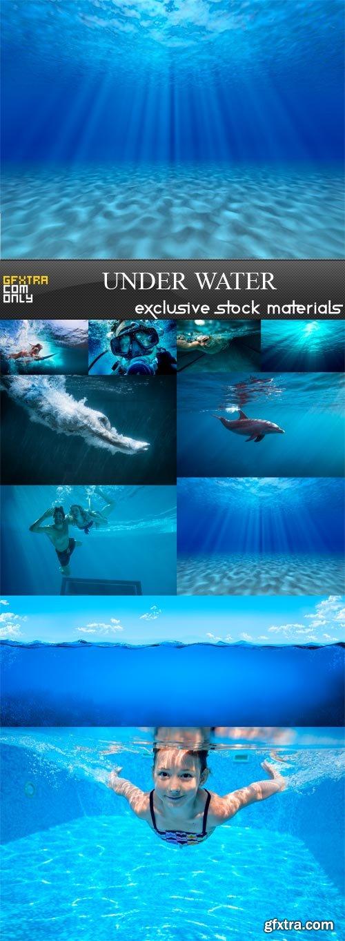 Under Water - 10 x JPEGs