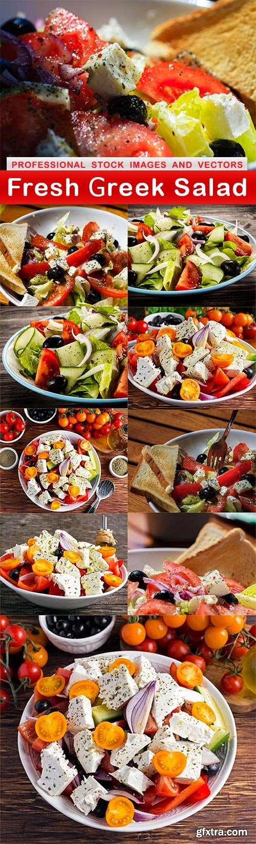 Fresh Greek Salad - 10 UHQ JPEG