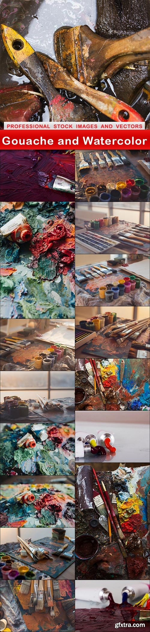 Gouache and Watercolor - 17 UHQ JPEG