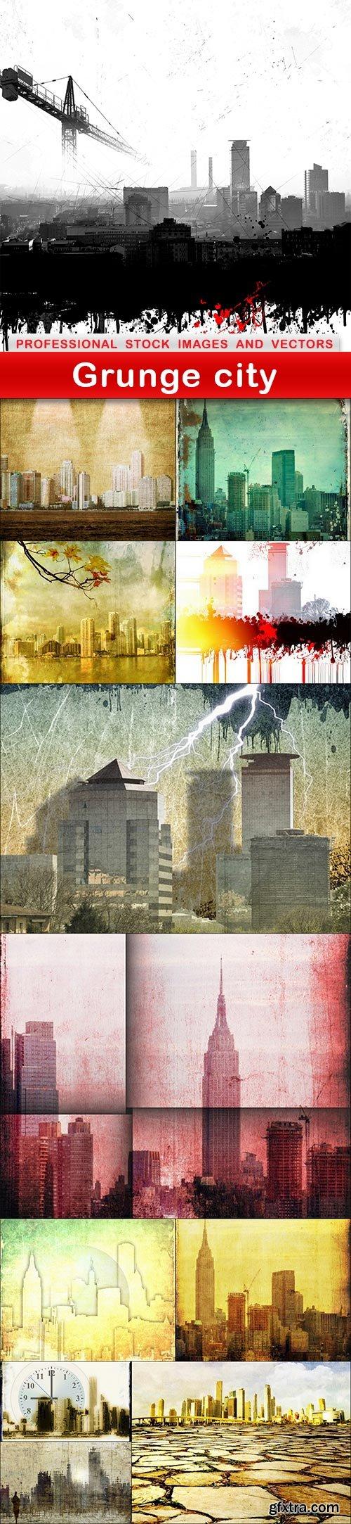 Grunge city - 12 UHQ JPEG
