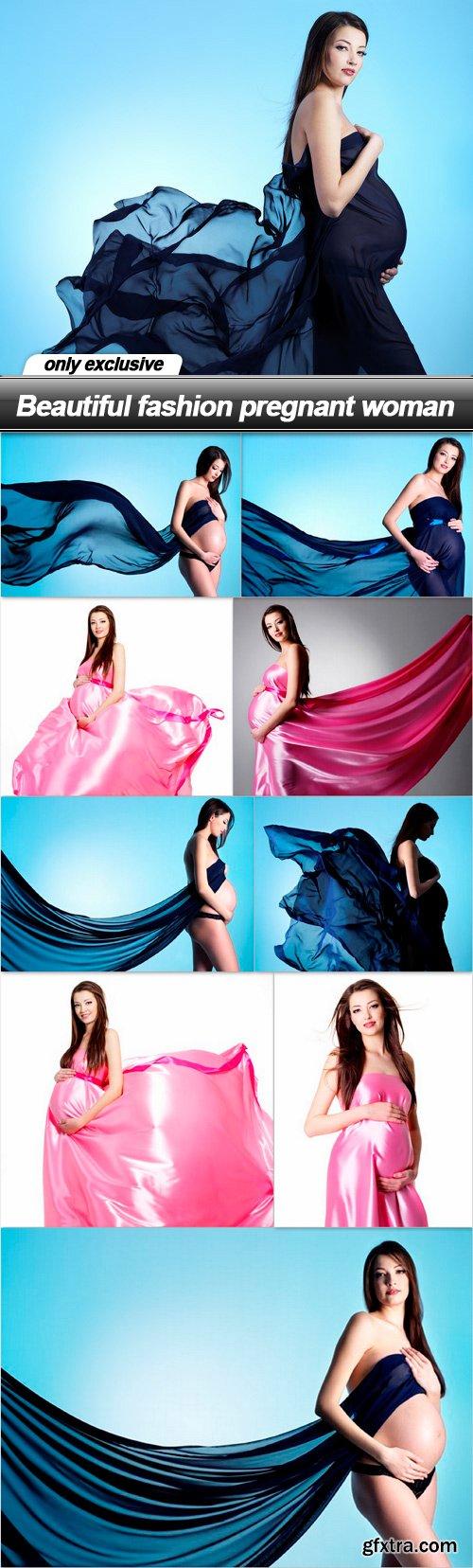 Beautiful fashion pregnant woman - 10 UHQ JPEG