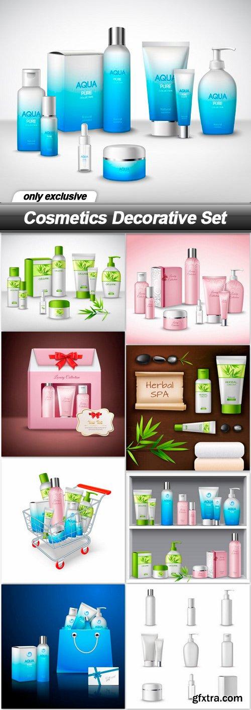 Cosmetics Decorative Set - 9 EPS