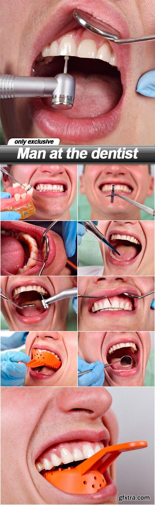 Man at the dentist - 10 UHQ JPEG