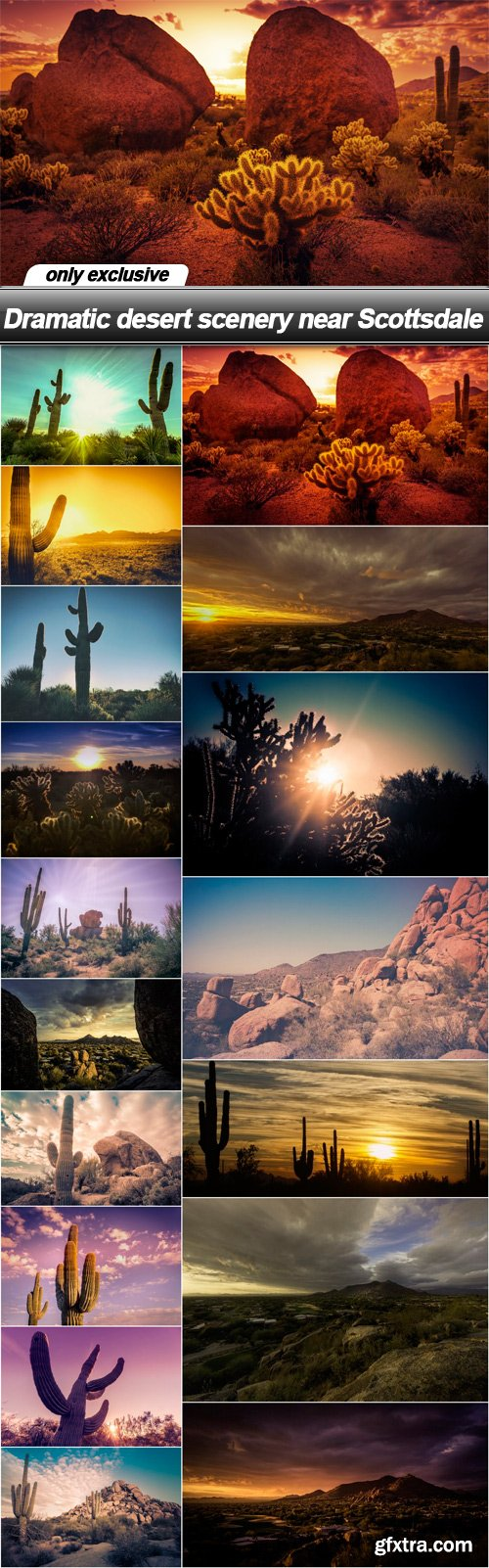 Dramatic desert scenery near Scottsdale - 17 UHQ JPEG