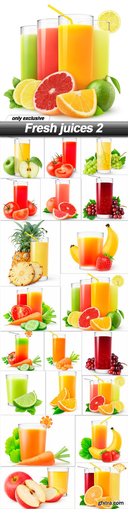Fresh juices 2 - 20 UHQ JPEG