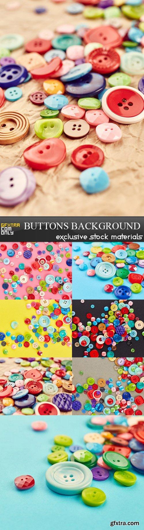 Buttons Background - 8 UHQ JPEG