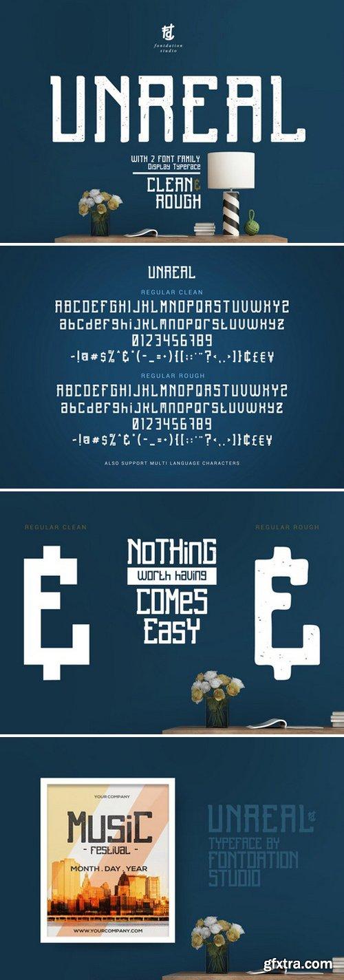 CM - Unreal Display Fonts 799260