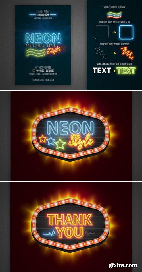 CM - Neon realistic AI style 784833