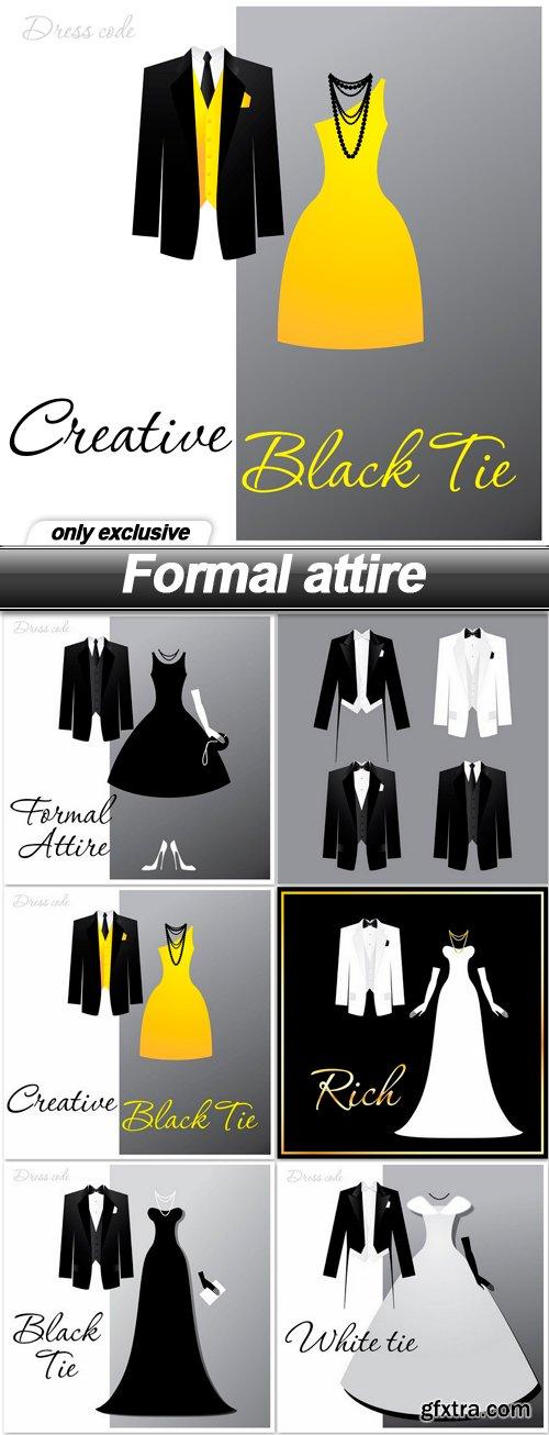 Formal attire - 6 EPS