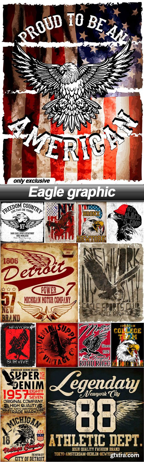 Eagle graphic - 14 EPS