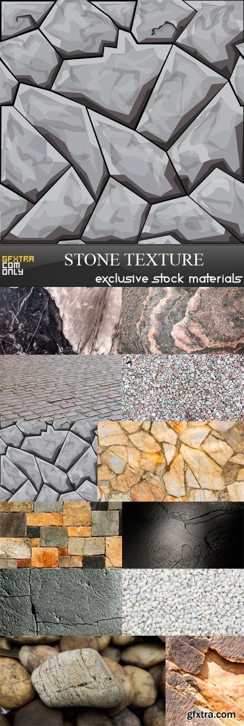 Stone Texture - 12 x JPEGs