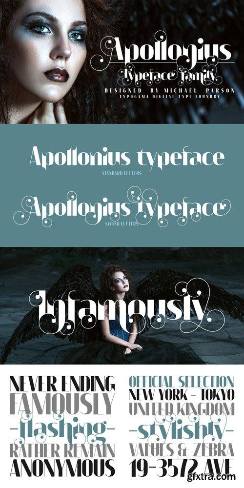 Apollonius Font $25