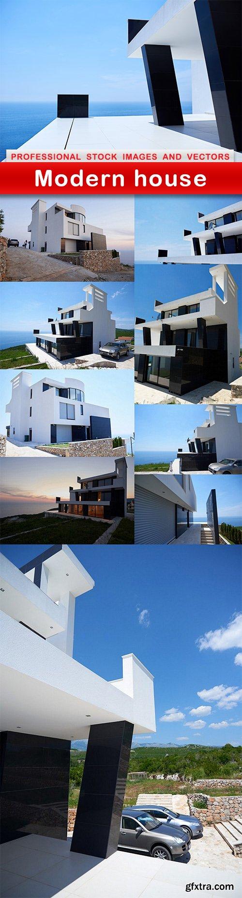 Modern house - 10 UHQ JPEG