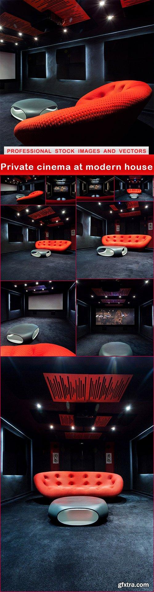 Private cinema at modern house - 10 UHQ JPEG