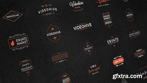Videohive - 25 Animated Titles & Badges & labels - 17286686