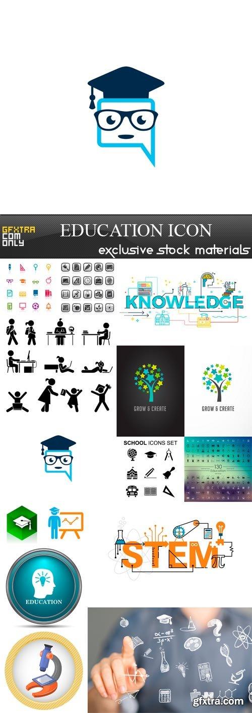 Education Icon - 14 x JPEGs