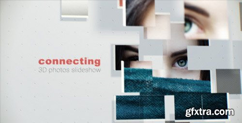 Videohive - Connecting 3D Photos Slideshow - 17300185