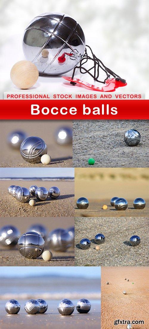 Bocce balls - 9 UHQ JPEG