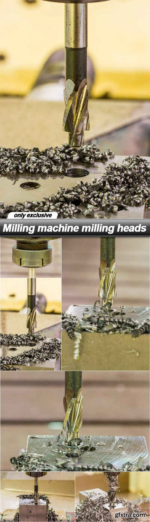 Milling machine milling heads - 7 UHQ JPEG