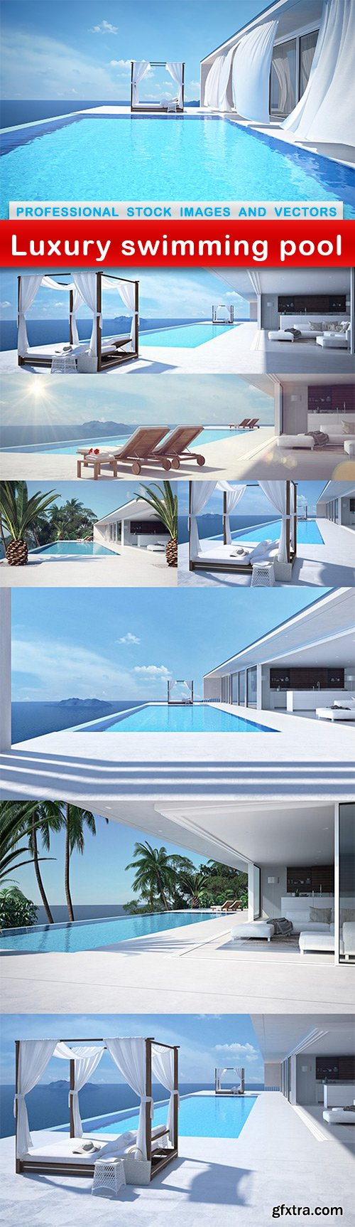 Luxury swimming pool - 8 UHQ JPEG